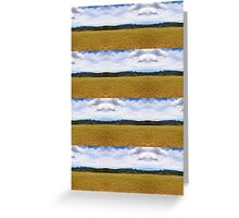 Landscape Pattern Greeting Card
