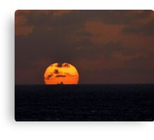 Caribbean Cruise Sunset No. 2 Canvas Print