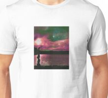 Yoga by the lake Unisex T-Shirt