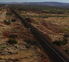 Railway line by James  Harvie