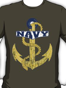 Vintage NAVY Anchor - Fathers Day Gift!  T-Shirt