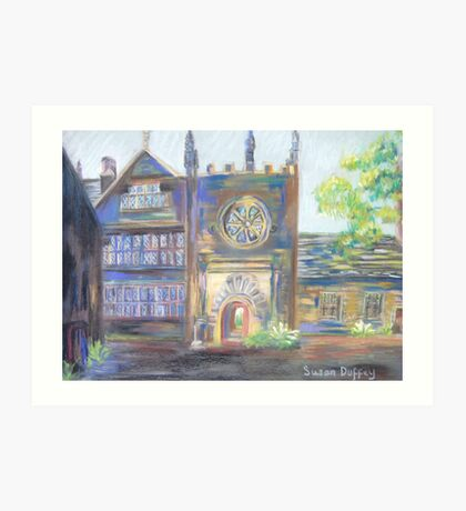 Entrance to East Riddlesden Hall Art Print
