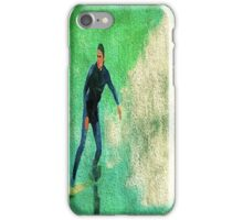 A Surfer Leads the Wave iPhone Case/Skin