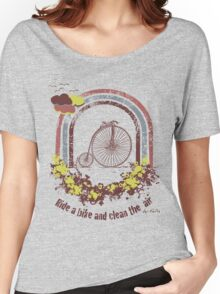 ride on my bike Women's Relaxed Fit T-Shirt