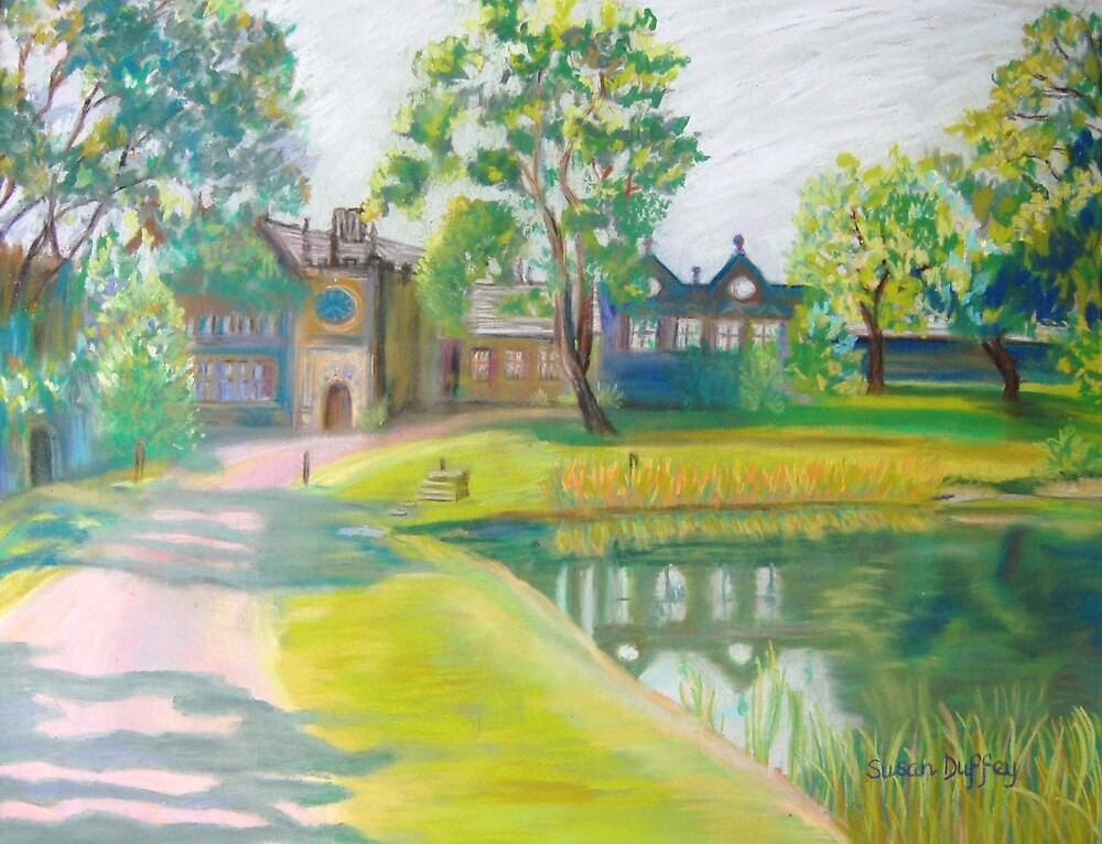 East Riddlesden Hall - First Impressions by Susan Duffey