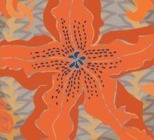 Zucchini FlowerPower Sticker