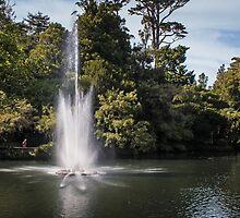 Fountain at Pukekura Park by Roger Neal