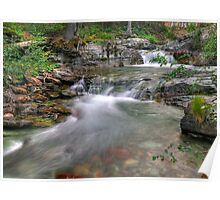 Evening on Baring Creek Poster