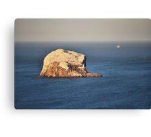 The Bass Rock Canvas Print
