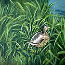 Ey up me duck by Carole Russell