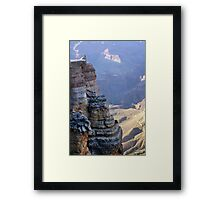 Condor at The Grand Canyon Framed Print