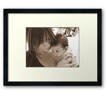 Tina & Tristan Framed Print