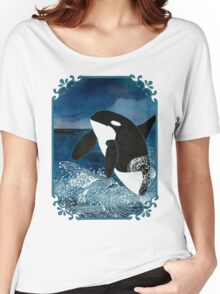 Killer Whale Orca Women's Relaxed Fit T-Shirt