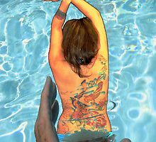 Workin On my Tan >>>>Neat-UP................. by WhiteDove Studio kj gordon