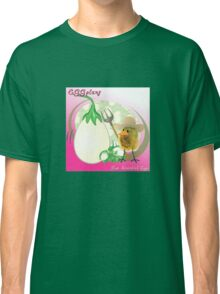 Two Scrambled Eggs - EGGplant Classic T-Shirt