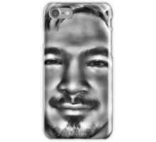 In a Childs Eyes Gray iPhone Case/Skin