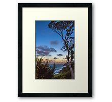 Australian Sunset Framed Print