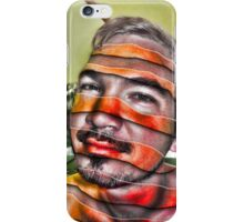 In a Childs Eyes Angle Stripes iPhone Case/Skin