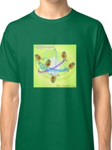 Two Scrambled Eggs - EGGocentric Classic T-Shirt