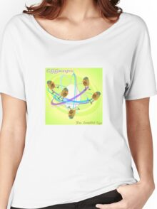 Two Scrambled Eggs - EGGocentric Women's Relaxed Fit T-Shirt