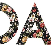 1D AF floral by aimee-not-amy