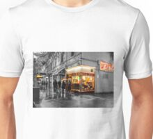 Pellegrinis night rain colour 3 Unisex T-Shirt