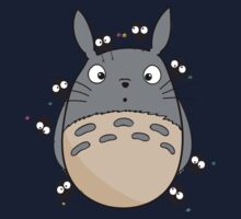 Little Totoro One Piece - Long Sleeve