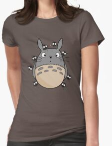 Little Totoro Womens Fitted T-Shirt