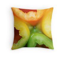 four season pepper Throw Pillow