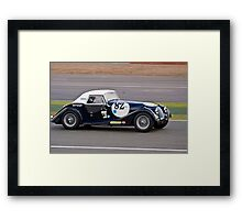 Plus 4 Framed Print