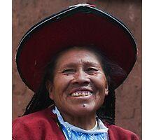Incan Woman Photographic Print