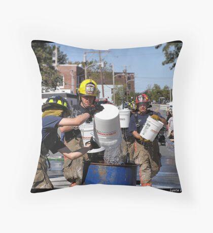 Old Town Riverfest 3 Throw Pillow