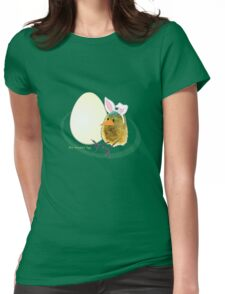 Two Scrambled Eggs - Waiting for Easter Womens Fitted T-Shirt