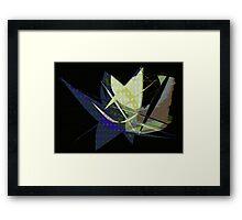 paper sculpture Framed Print