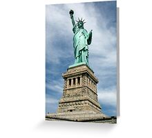 Statue of Liberty, New York, USA Greeting Card