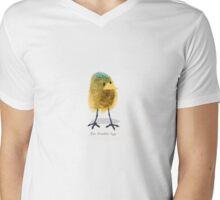 Two Scrambled Eggs - The Chick Mens V-Neck T-Shirt
