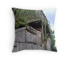 bridge over a.. shed? Throw Pillow