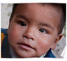 Incan Boy Poster