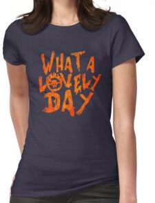 What a Lovely Day - Max Womens Fitted T-Shirt