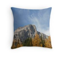 Larch Valley Throw Pillow