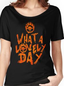 What a Lovely Day - Warrior Women's Relaxed Fit T-Shirt