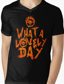 What a Lovely Day - Warrior Mens V-Neck T-Shirt