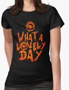 What a Lovely Day - Warrior Womens Fitted T-Shirt