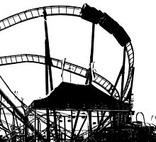 Roller Coaster by Clayton  Turner