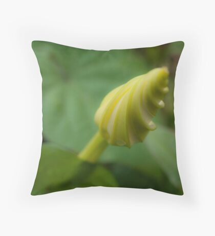 October Flower Throw Pillow