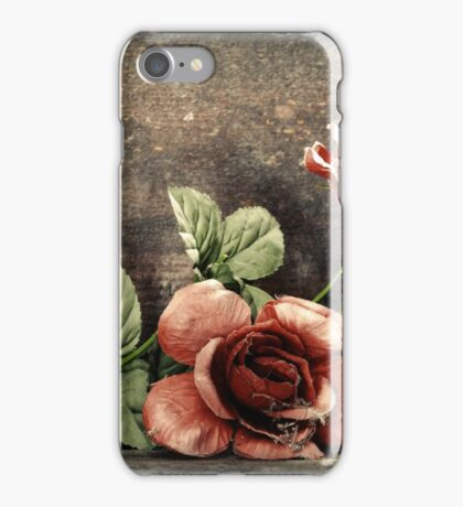 7.2.2015: Plastic Flowers iPhone Case/Skin