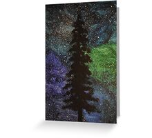 Night Tree Greeting Card