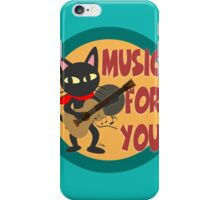 Music for you iPhone Case/Skin