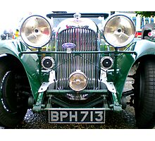 Classic Lagonda-Here's lookin' at ya! Photographic Print