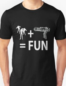 Zombie fun for Black shirts  T-Shirt